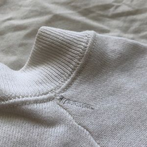 Vintage Sweaters - Vintage Cropped College Sweater